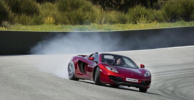 McLaren 12C Spider Convertible
