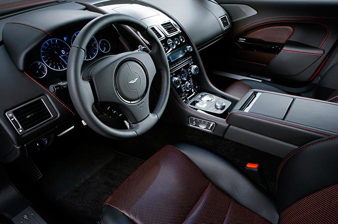 Aston Martin Rapide-S Interior
