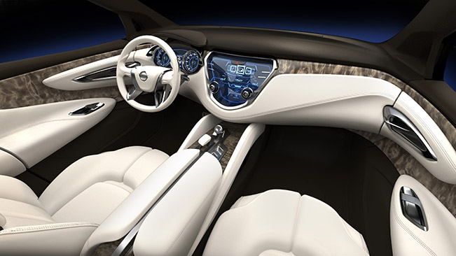 Nissan Resonance Concept Interior