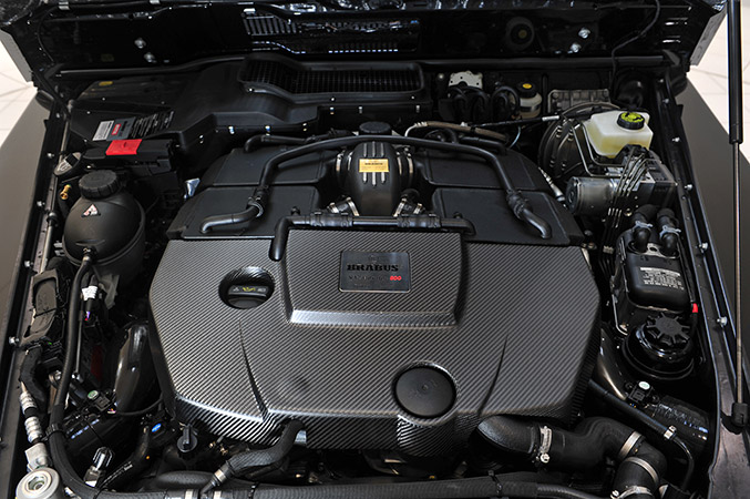 BRABUS 800 WIDESTAR Mercedes-Benz G 65 AMG Engine
