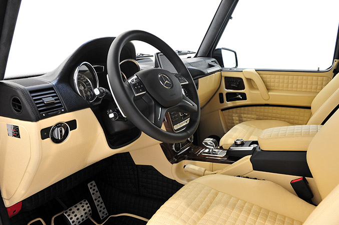 BRABUS 800 WIDESTAR Mercedes-Benz G 65 AMG Engine Interior