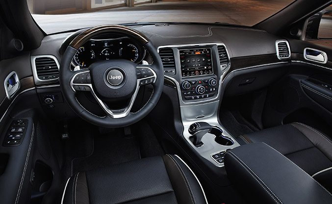 Jeep Grand Cherokee MY 2014 Interior