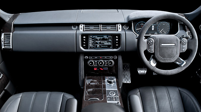 Kahn Design Range Rover Vogue Black Label Edition Interior