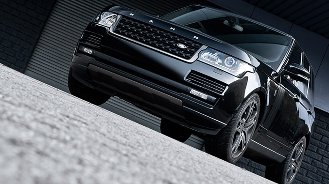 Kahn Design Range Rover Vogue Black Label Edition