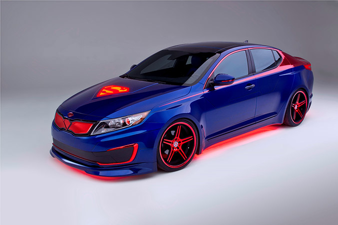 Kia Optima Hybrid Project Superman