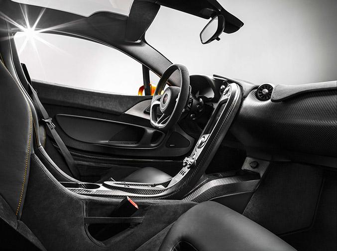 McLaren P1 Inside View