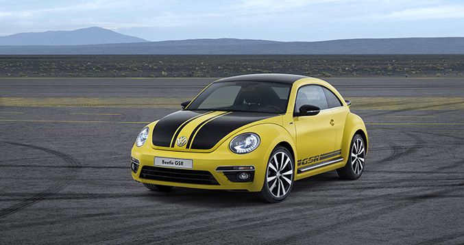 Volkswagen Limited-Edition Beetle GSR