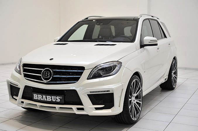 2013 BRABUS B63S 700 WIDESTAR Mercedes ML 63 AMG