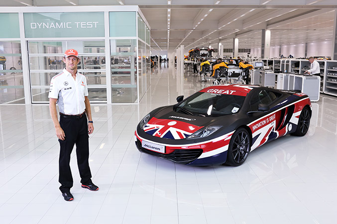 McLaren Group and Jenson Button Launch Great 12C