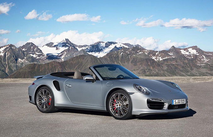 The New 911 Turbo Cabriolet Models