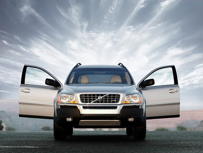12 years Volvo XC90 Front