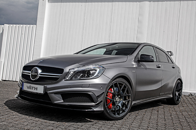 2014 VATH Mercedes-Benz A45 AMG Front Angle