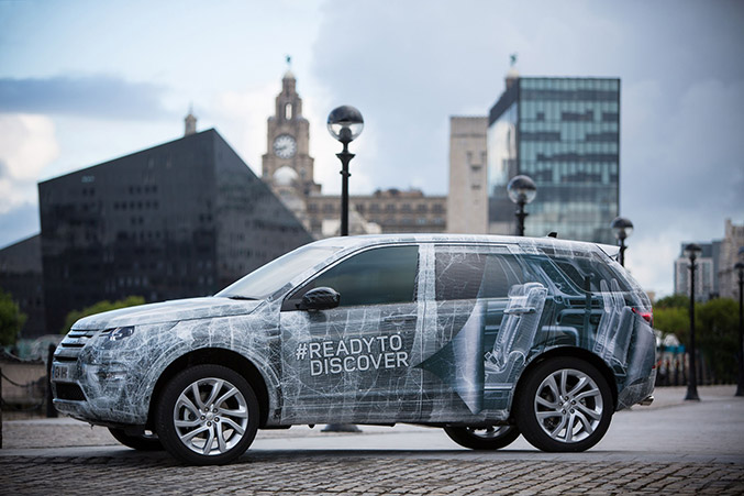 Land Rover reveals third row seating for new Discovery Sport