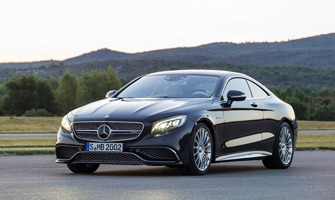 2015 Mercedes-Benz S 65 AMG Coupe Front Angle