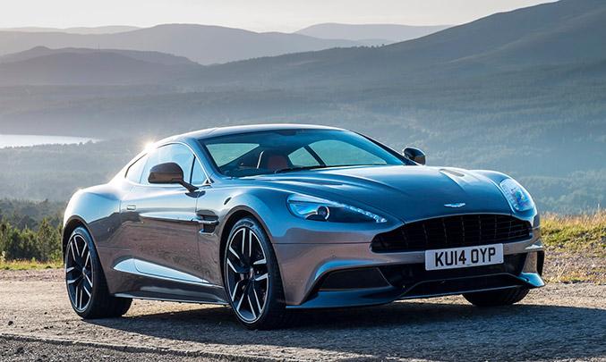 2015 Aston Martin Vanquish Front