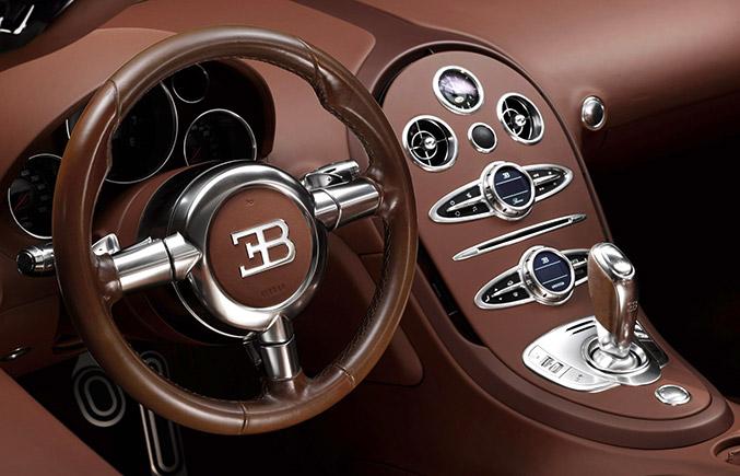2014 Bugatti Veyron Ettore Bugatti Interior