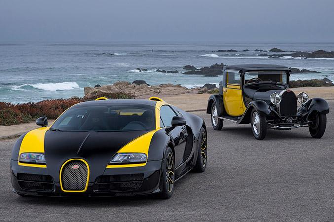 2014 Bugatti Veyron Grand Sport Vitesse 1of1 Front Angle