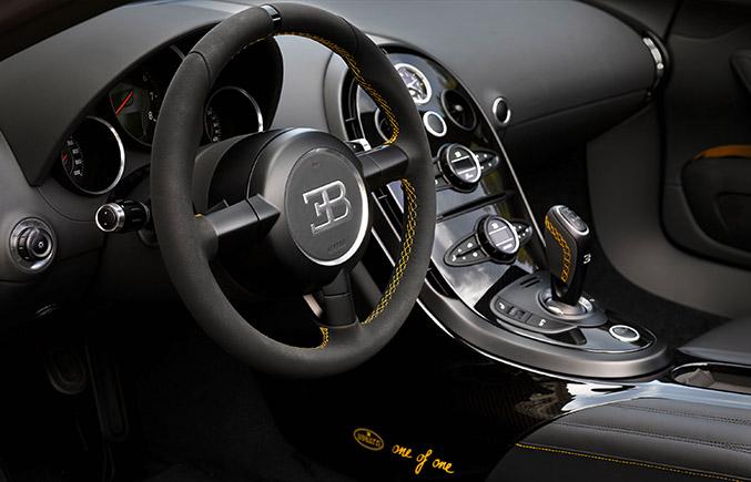 2014 Bugatti Veyron Grand Sport Vitesse 1of1 Interior