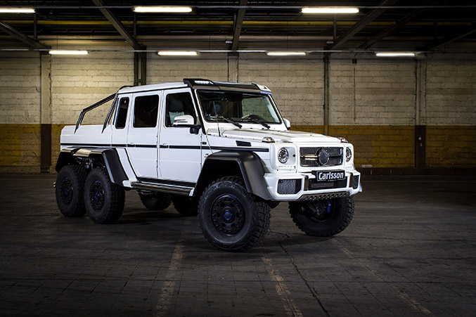 2014 Carlsson Mercedes-Benz G63 6x6 Front Angle