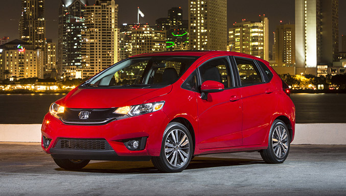 2015 Honda Fit Front Angle