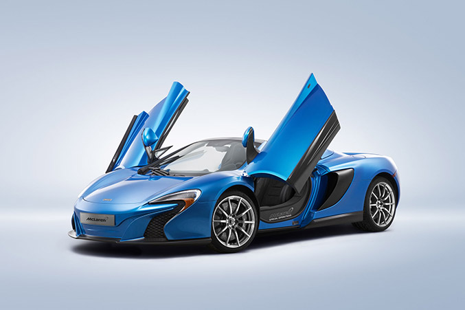 2015 McLaren 650S Spider Front Angle