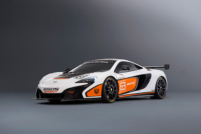 2015 McLaren 650S Sprint Front Angle