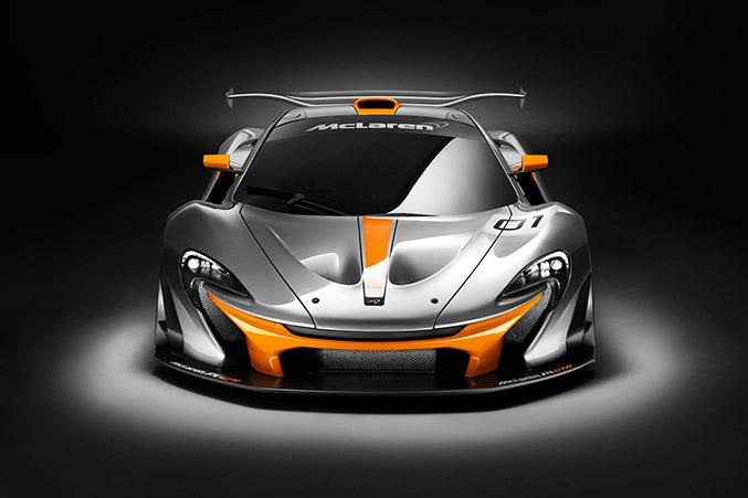 2014 McLaren P1 GTR Concept Front