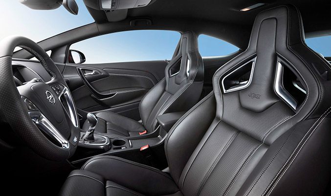 Opel Drivers Seat Inerior