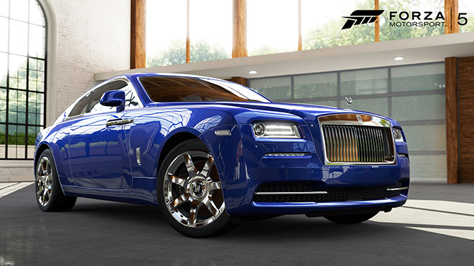 Rolls-Royce Wraith in Forza Motorsport 5 for Xbox One Front Angle