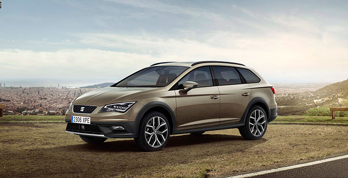 2016 Seat Leon X-PERIENCE Front Angle