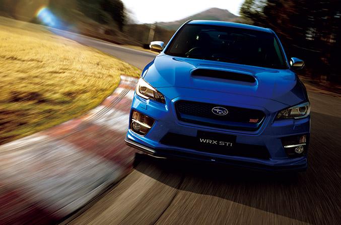 2014 Subaru WRX STI Front