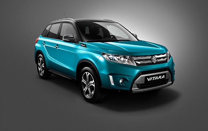 2015 Suzuki Vitara Front Angle