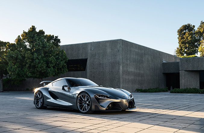 2014 Toyota FT-1 Graphite Concept Front Angle