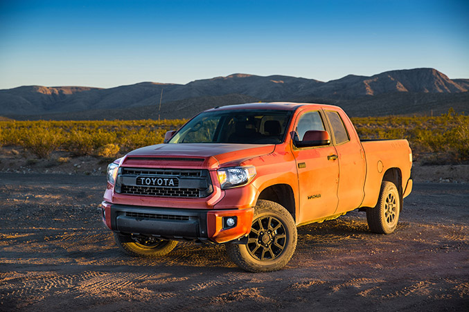 2015 Toyota Tundra TRD Pro Series Front
