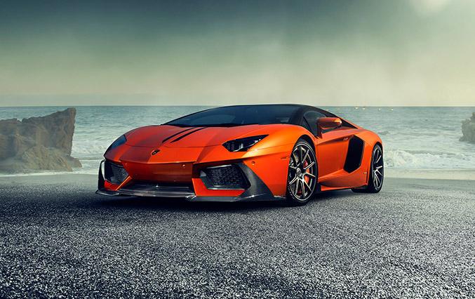 2014 Vorsteiner Lamborghini Aventador-V Front