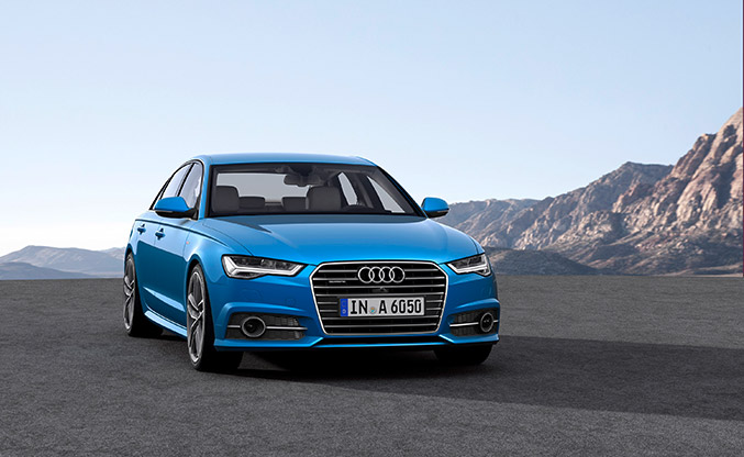 2015 Audi A6 Front Angle