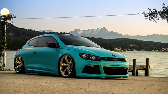 2014 Bruxsafol Volkswagen Scirocco Front Angle