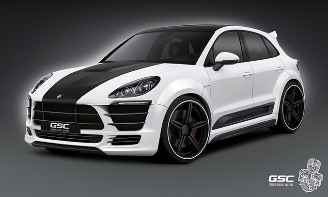 2014 GSC Porsche Macan Front