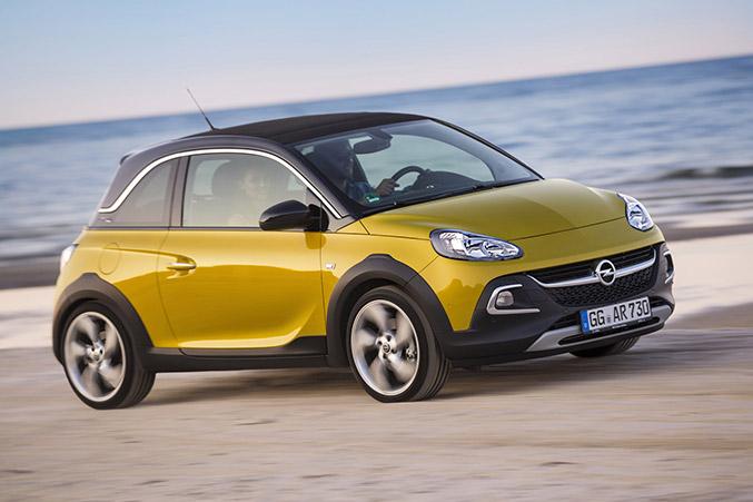 2015 Opel Adam Rocks Front Angle