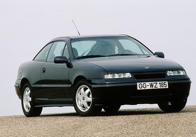 1989 Opel Calibra Front