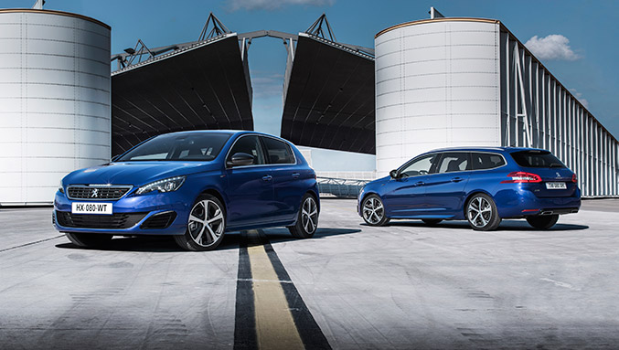 2015 Peugeot 308 GT Hatch and SW