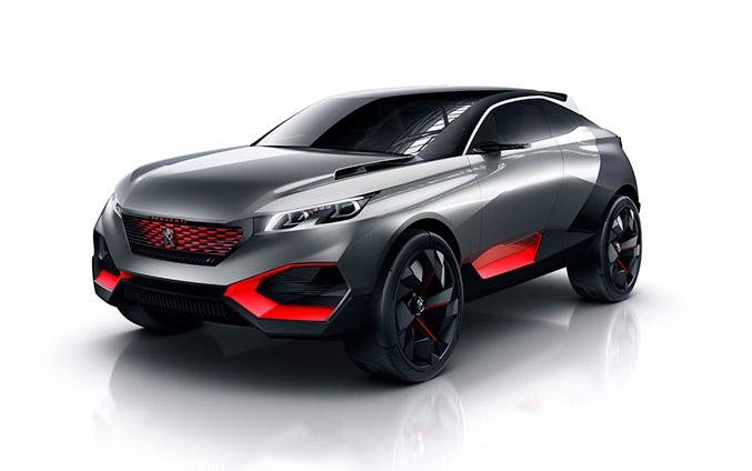 2015 Peugeot Quartz Concept Front Angle