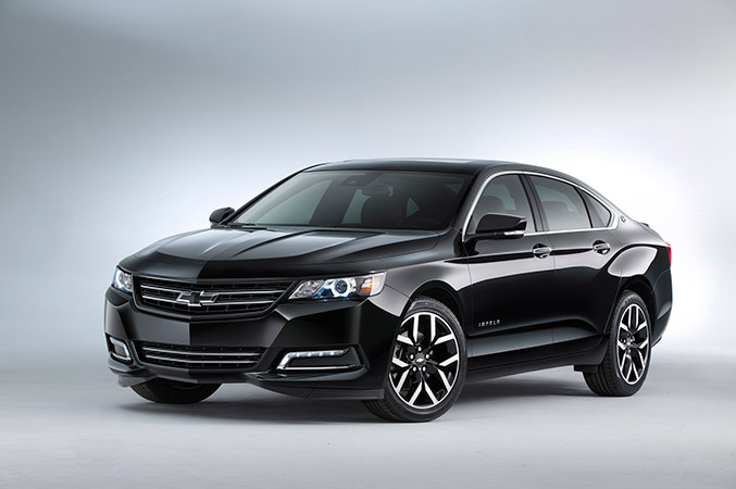 2014 Chevrolet Impala Blackout Concept Front Angle