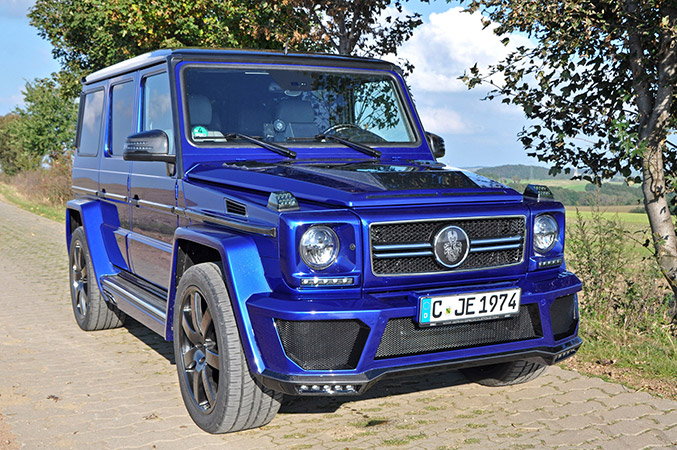 2014 GSC Mercedes-Benz G400 CDI Front Angle