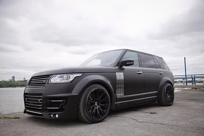 2014 Lumma Design Range Rover LWB CLR R Front Angle