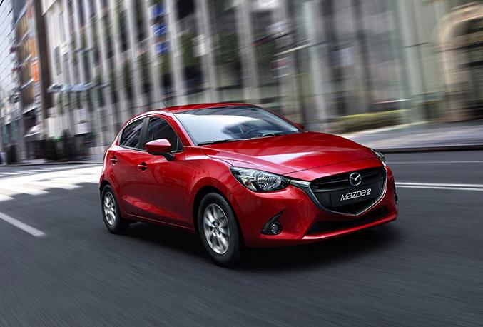 2015 Mazda2 Front Angle
