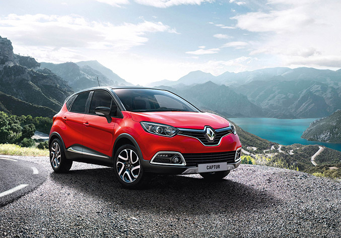 2014 Renault Captur Signature Front Angle