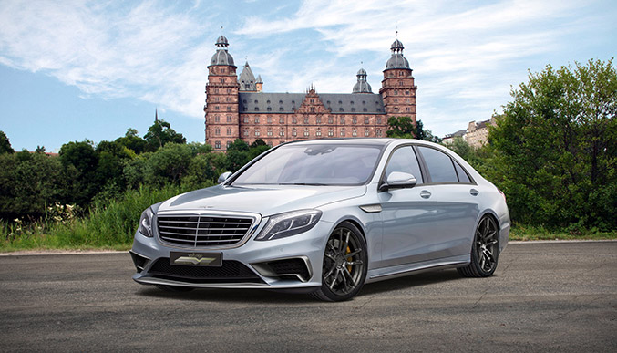 2014 Voltage Mercedes-Benz S65 AMG Front Angle
