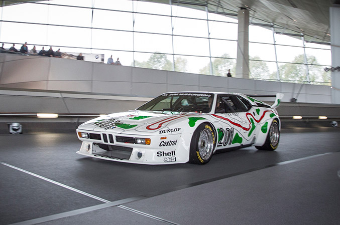 1979 BMW M1 Procar Front Angle