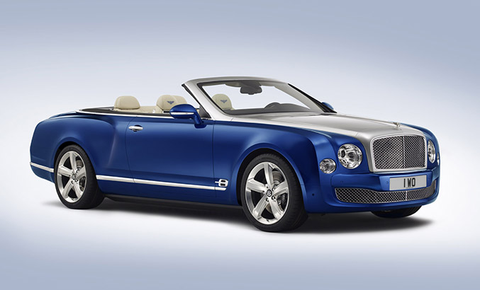2014 Bentley Grand Convertible Concept Front Angle